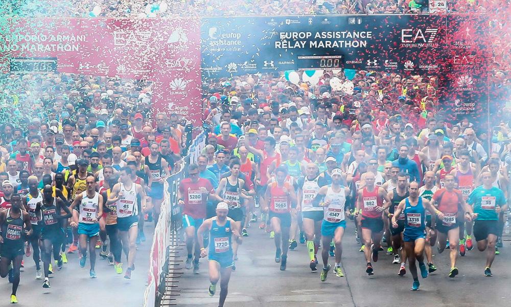 EA7 EMPORIO ARMANI MILANO MARATHON 2017 IS THE FASTEST MARATHON EVER RUN IN ITALY