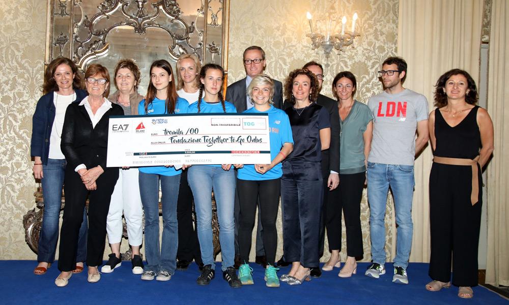 Milano Marathon Awards: I Trofei Solidali Di EA7 Emporio Armani Milano Marathon