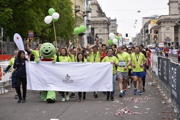 Foto Marco Alpozzi/LaPresse02 04 2017 Milano ( Italia)Sport EA7 Emporio Armani Milano MarathonNella foto: Arrivi e ParatePhoto Marco Alpozzi/LaPresseApril 02, 2017 Milano (Italy)SportEA7 Emporio Armani Milano MarathonIn the pic: Arrivi e  Parate
