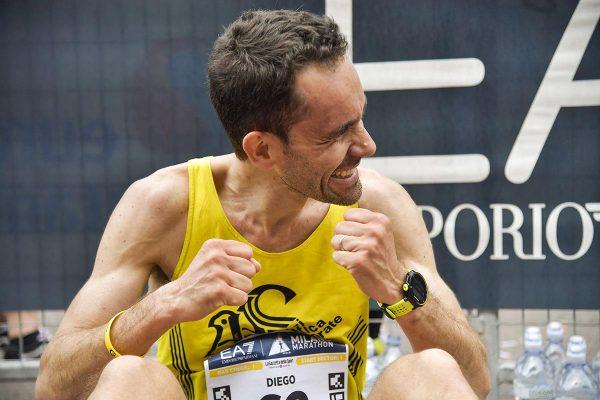 Foto  LaPresse/ Marco Alpozzi08/04/2018, MilanosportMilano Marathon EA7nella foto: Atleti all'arrivo Foto  LaPresse/Marco AlpozziApril 08, 2018, MilanMilano Marathon EA7in the photo: athlete