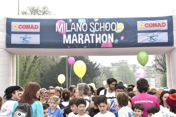 16° edizione della SuisseGas Milano Marathon, 3 aprile 2016. ANSA / FLAVIO LO SCALZO