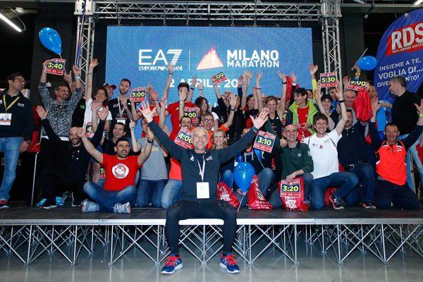 Foto  LaPresse/  Spada 01-04-2017, MilanosportMilano Marathon Villagenella foto: eventi palcoPhoto LaPresse/ Spada2017-04-01, MilanMilano Marathon EA7 Emporio ArmaniIn the picture: