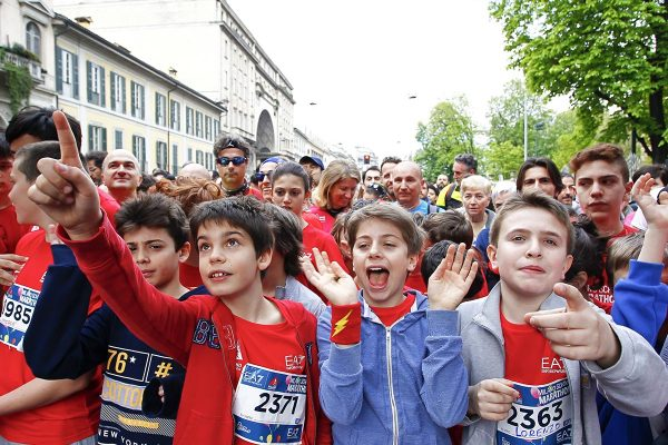 Foto  LaPresse/  Spada 02-03-2017, MilanosportMilano Marathon EA7 Emporio Armaninella foto: la maratona Photo LaPresse/ Spada2017-04-02, MilanMilano Marathon EA7 Emporio ArmaniIn the picture: Milano Marathon
