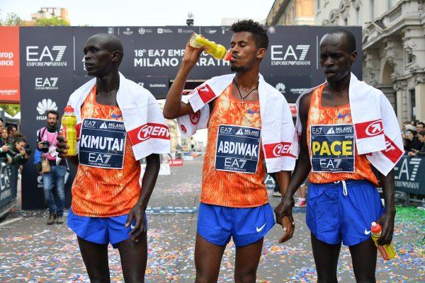 Primi Tre Arrivati Uomini_Maratona