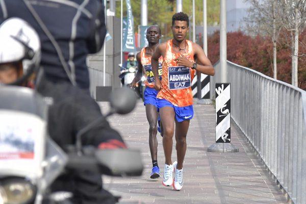 Foto  LaPresse/ Marco Alpozzi08/04/2017, MilanosportMilano Marathon EA7nella foto: Un momento della gara Foto  LaPresse/Marco AlpozziApril 08, 2018, MilanMilano Marathon EA7in the photo: a moment of marathon