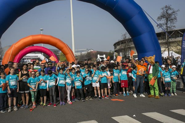 ESCLUSIVA RCS SPORT Photo LaPresse - Stefano De Grandis07 Aprile  2018 - Milano  (Italia)  Evento Rcs Sport - EA7 Milano Marathon School Marathon a City lifeSportNella foto: MARATONAEXCLUSIVE RCS SPORT Photo LaPresse - Stefano De GrandisAprile 07  , 2018 Milan  (Italy )  SportEvento Rcs Sport - EA7 Milano Marathon School MarathonIn the pic: MARATHON