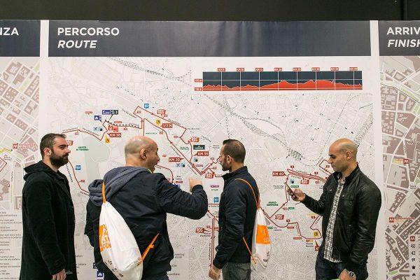 Foto LaPresse/Stefano De Grandis07/04/18 MilanoEA7 Milano MarathonVillaggio presso MiCocommercialeNella foto: Sponsor