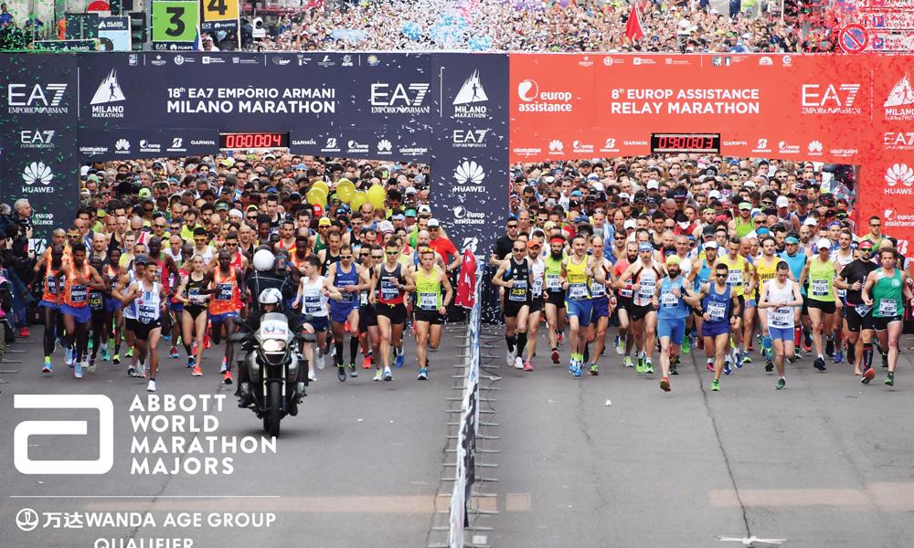 Milano Marathon es el único marathon de Italia en el calendario Nuevo Abbott World Marathon Majors Wanda Age Group World Rankings Qualifying