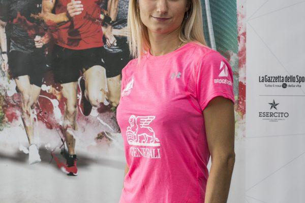 Foto Stefano De Grandis - LaPresse17-10-2018- MilanoSportConferenza stampa presentazione Generali Milano Marathonnella foto:  Beatrice Mazza