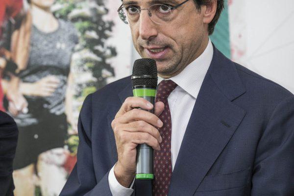 Foto Stefano De Grandis - LaPresse17-10-2018- MilanoSportConferenza stampa presentazione Generali Milano Marathonnella foto:  Simone Bemporad