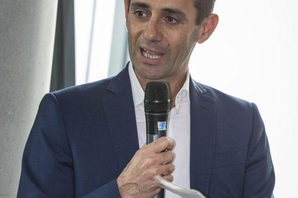 Foto Stefano De Grandis - LaPresse17-10-2018- MilanoSportConferenza stampa presentazione Generali Milano Marathonnella foto:  Stefano Parisi