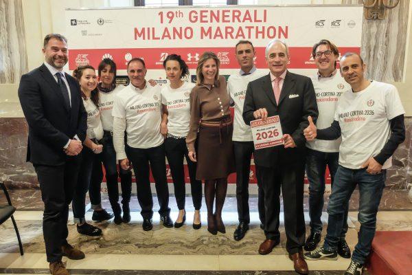 La staffetta del Comune di Milano