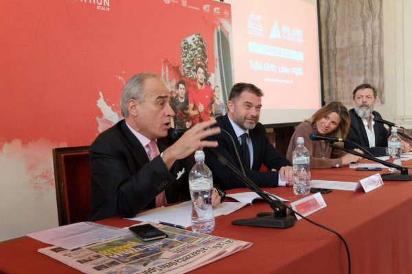 da sx Andrea Monti, Antonio Rossi, Roberta Guaineri e Andrea Trabuio