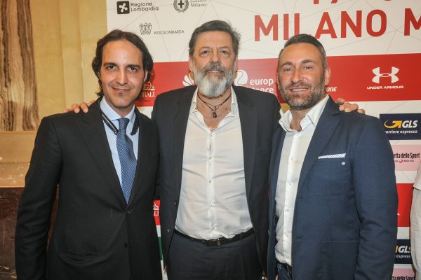 da sx Massimiliano Montefusco, Anddrea Trabuio e Paolo Piva