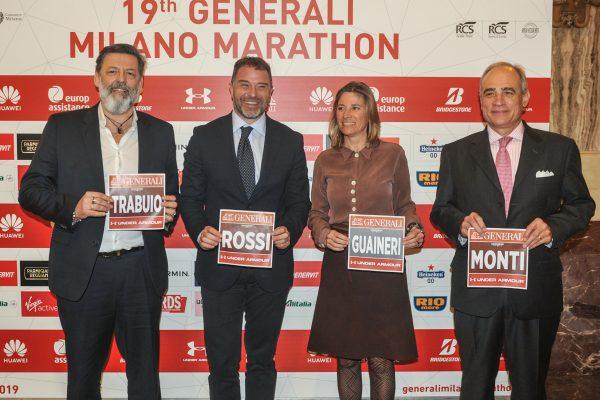 da sx Trabuio, Rossi, Guaineri e Monti