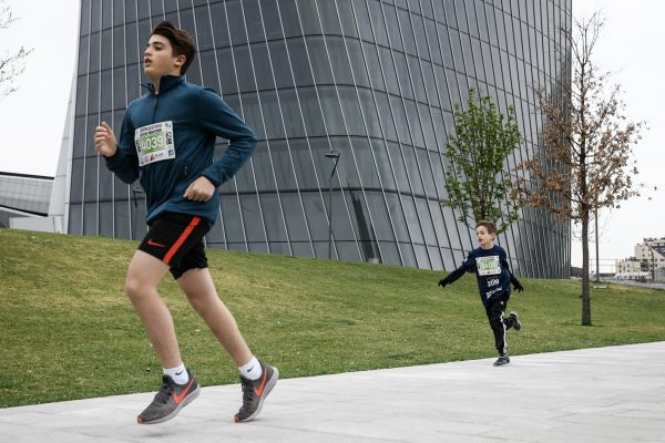 Foto LaPresse - Piero Cruciatti06 Aprile 2019 Milano, Italia Sport - RunningMilano Running Festival - MRF - Day 3Nella foto:  School MarathonPhoto LaPresse - Piero CruciattiApril 6, 2019 Milan, ItalySport - RunningMilano Running Festival - MRF - Day 3In the pic: School Marathon