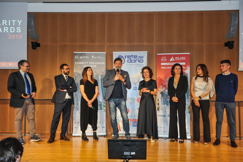 Charity Awards: la entrega de los trofeos de solidaridad de Generali Milano Marathon 2019