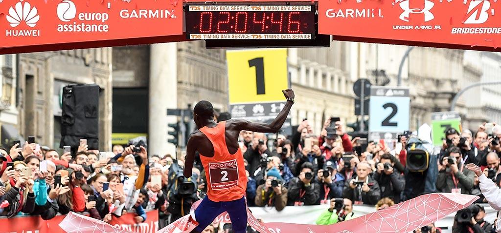 La Milano Marathon vive sul web