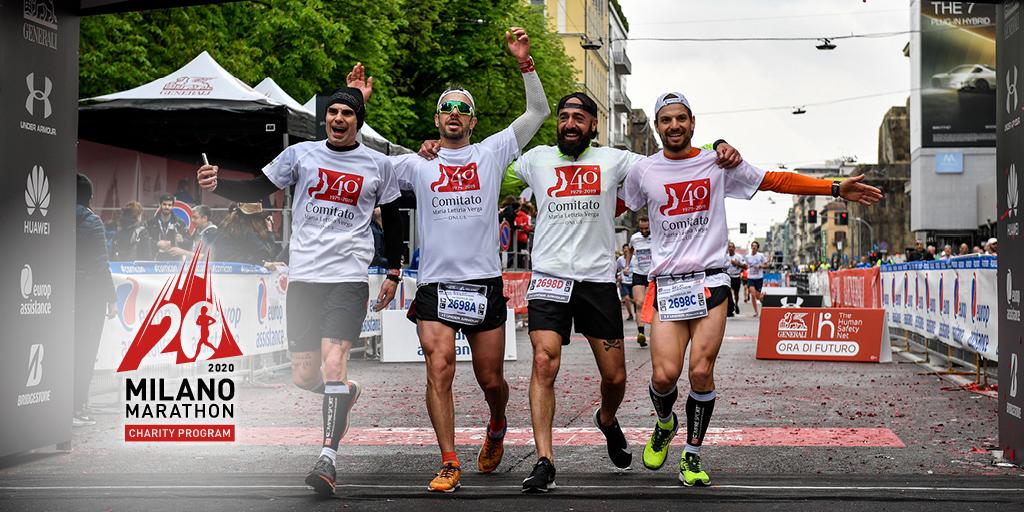 Partite le iscrizioni al Milano Marathon Charity Program: già assegnata oltre la metà dei pacchetti