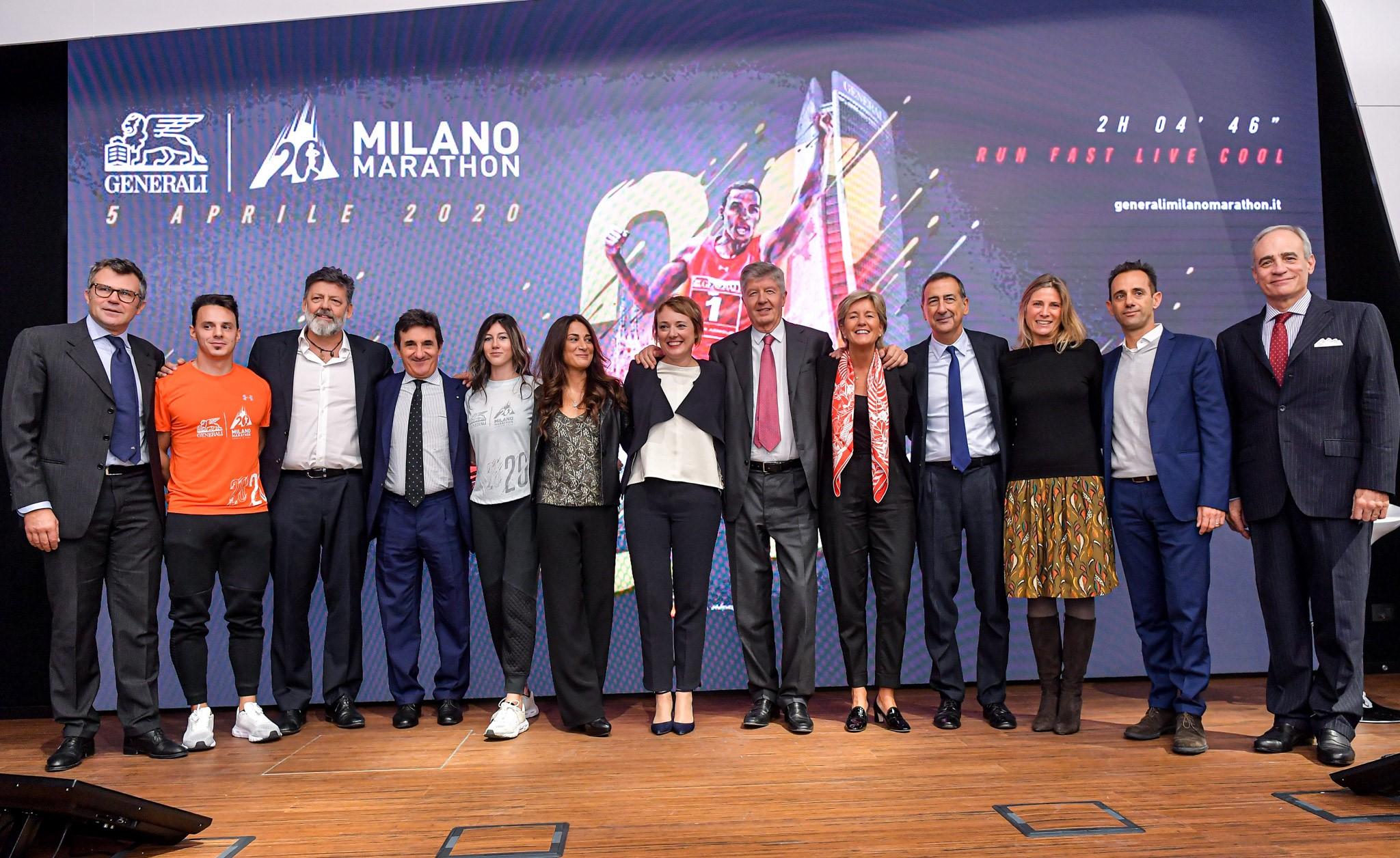 Generali Milano Marathon: la XX edizione e tutti i suoi record