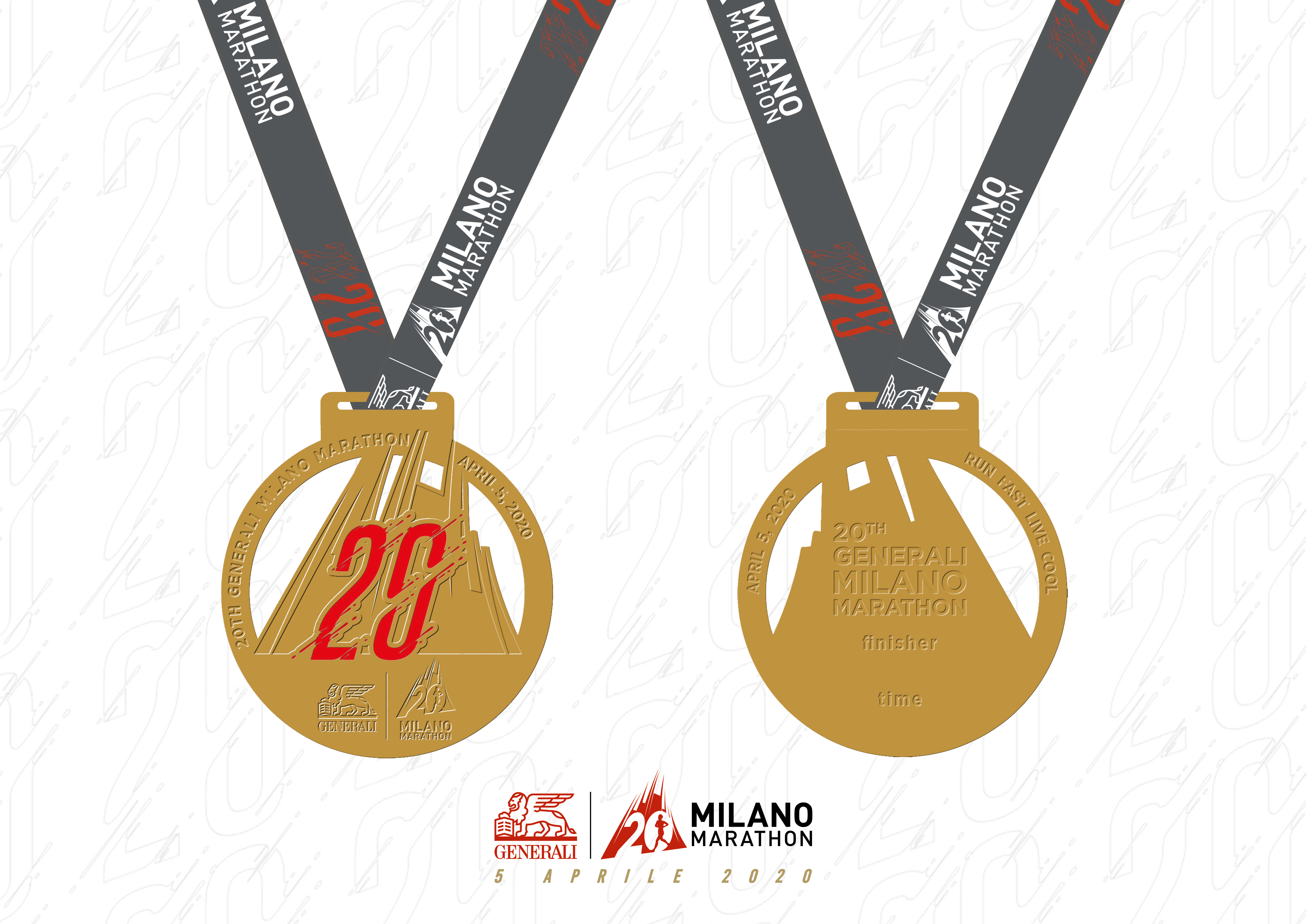 Generali Milano Marathon 2020: svelata la medaglia