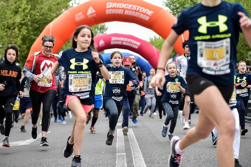 """Torna la Bridgestone School Marathon, la mattinata """"in corsa"""" più attesa dai bambini"""