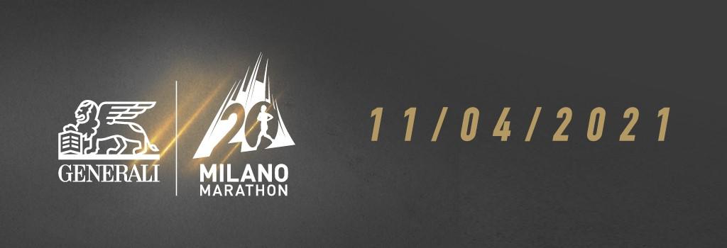 La vigésima edición del Generali Milano Marathon se llevará a cabo el 11 de abril de 2021