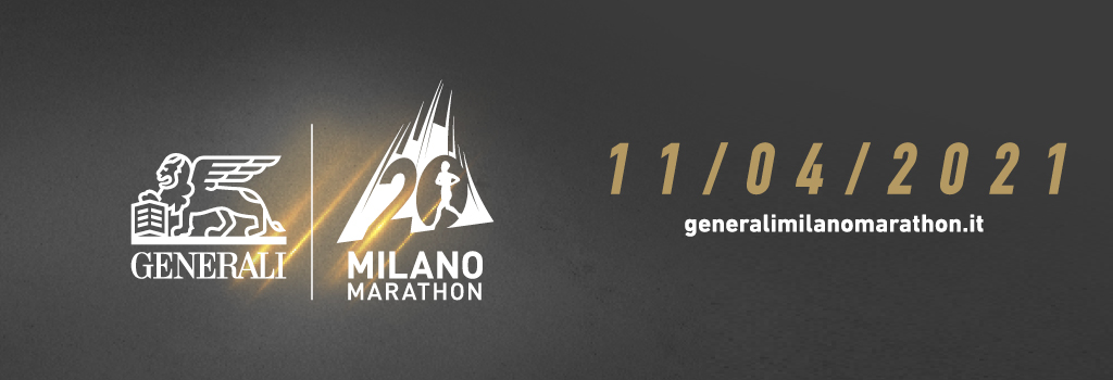 The next edition of the Generali Milano Marathon will be on 11th April 2021