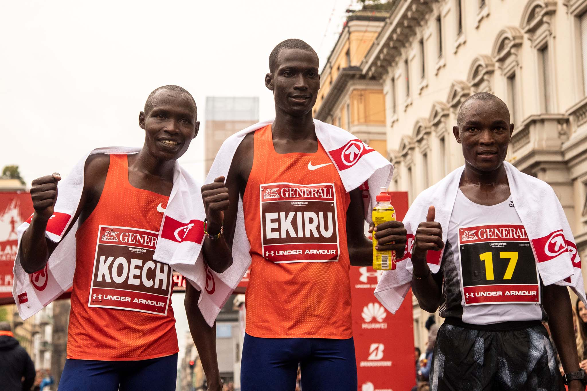 Top runners shortlist unveiled