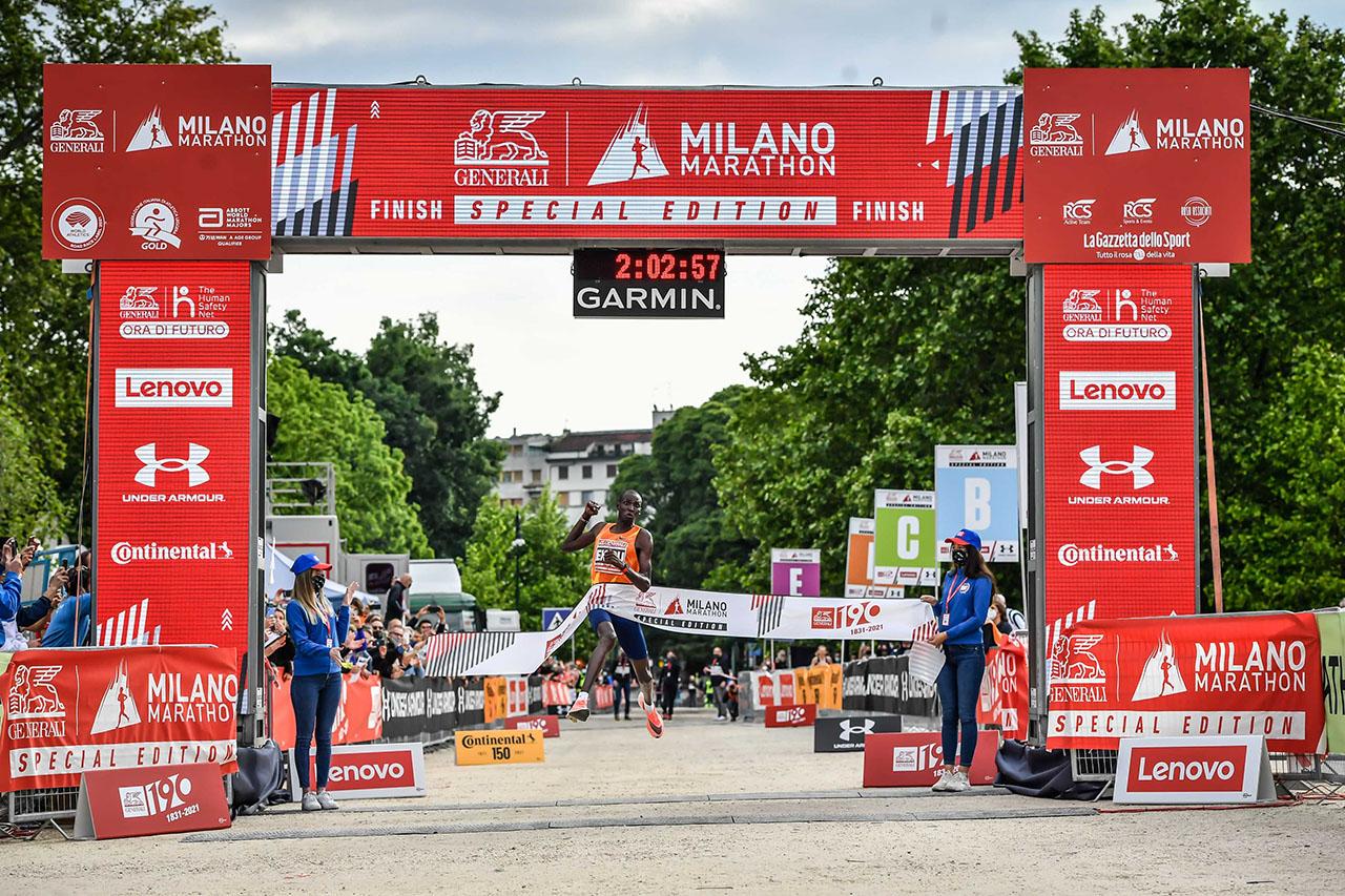 Milan in the history of marathon